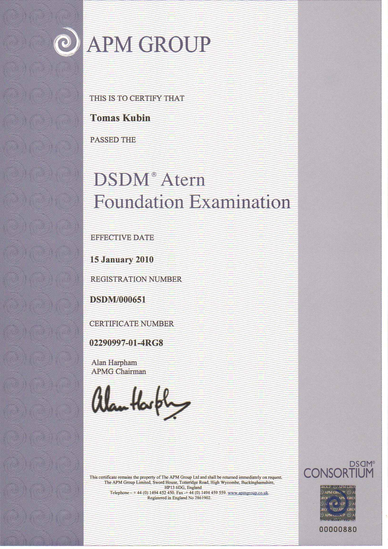 six sigma dissertation